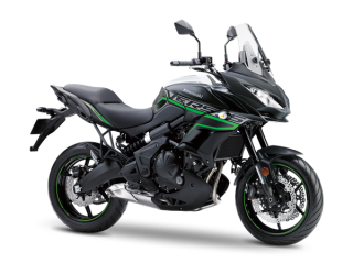 KAWASAKI VERSYS 650 ABS MY20 Metallic Moondust grey/Metallic Spark black