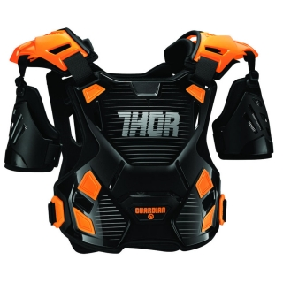Chránič hrudi MX THOR GUARDIAN black/orange