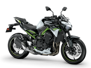 KAWASAKI Z900 MY20 Pearl Blizzard White / Metallic Spark Black 35KW