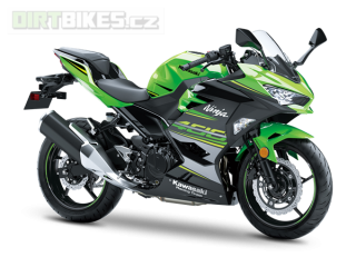 KAWASAKI NINJA 400 MY20 KRT Edition LIME GREEN / EBONY