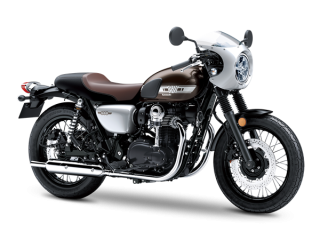 KAWASAKI W800 CAFE 2020 Metallic Magnesium Gray / Galaxy Silver