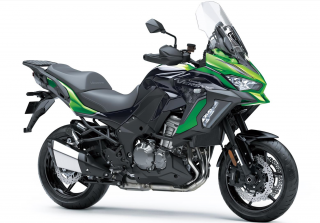 KAWASAKI VERSYS 1000 SE ABS MY21 Emerald Blazed Green / Metallic Diablo Black / Metallic Flat Spark Black