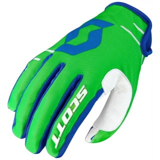 SCOTT motokrosové rukavice glove 350 DIRT black/white