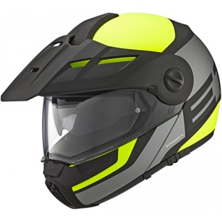 SCHUBERTH E1 Guardian Yellow Enduro vyklápěcí přilba