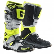 Moto boty Gaerne SG-12, LIMITED EDITION COLOR WHITE / GREY / YELLOW FLUO