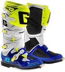 Moto boty Gaerne SG-12, LIMITED EDITION BARVA BLUE / WHITE / YELLOW FLUO