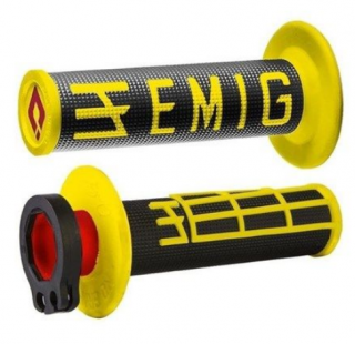 Grip ODI MX v2 EMIG LOCK-ON yel/bk