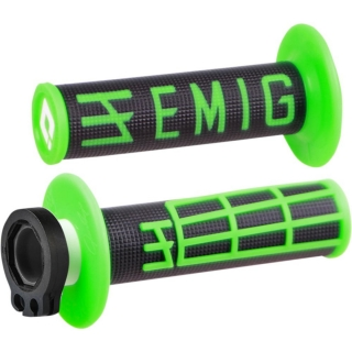 Grip ODI MX v2 EMIG LOCK-ON green/bk