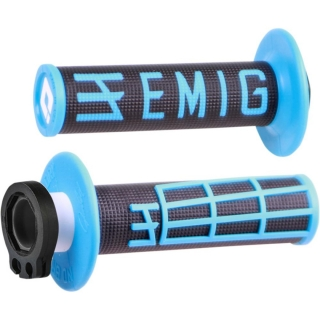 Grip ODI MX v2 EMIG LOCK-ON blue/bk
