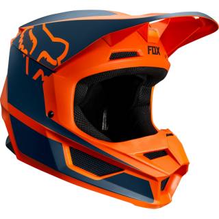 MX helma FOX V1 Przm helmet orange