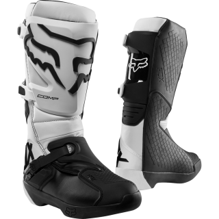 MX boty FOX Comp Boot White