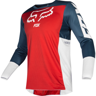 MX dres Fox 180 PRZM Jersey navy/red