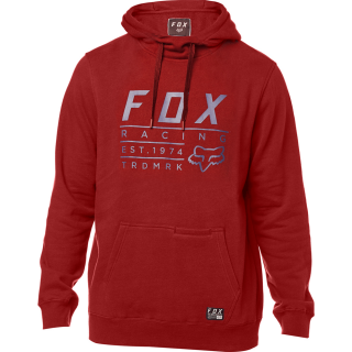 Pánská mikina FOX Lockwood Pullover Fleece Bordeaux