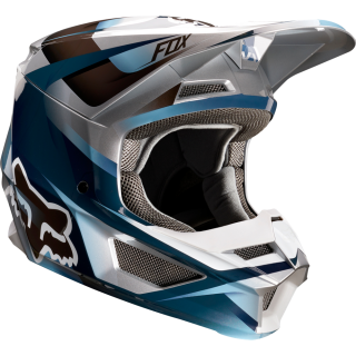 MX helma FOX V1 Motif helmet blue/grey