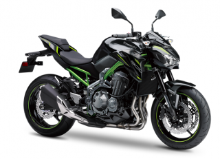 KAWASAKI Z900 MY19 Metallic Flat Spark black / Metallic Spark black