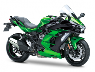NINJA H2 SX SE MY2019 Emerald Blazed Green / Metallic Diablo Black (SE)