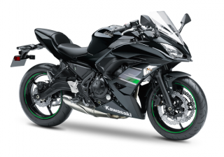 KAWASAKI NINJA 650 MY19 Metallic Flat Spark Black / Metallic Spark Black