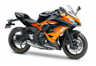 KAWASAKI NINJA 650 MY19 Candy Steel Furnace Orange / Metallic Spark Black