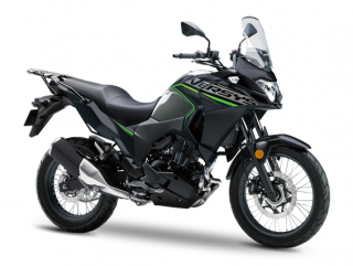 KAWASAKI Versys-X 300 MY19 Metallic Moondust Grey / Metallic Flat Spark Black