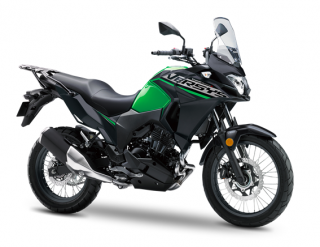 KAWASAKI Versys-X 300 MY19  Candy Lime Green / Metallic Flat Spark Black
