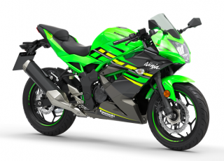 KAWASAKI NINJA 125 MY19 Lime Green / Ebony / Metallic Graphite Gray