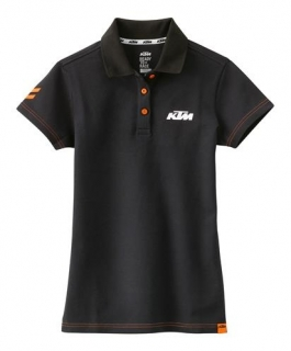 KTM Dámské triko GIRLS RACING POLO BLACK