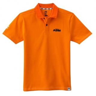 KTM Pánské triko RACING POLO ORANGE