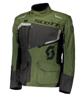 bunda pánská SCOTT DUALRAID DP JACKET grey/olive green