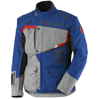 bunda pánská SCOTT DUALRAID DP JACKET light grey/blue