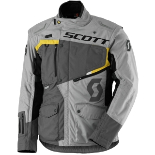 bunda pánská SCOTT DUALRAID DP JACKET grey/yellow