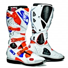 motokrosové boty SIDI CROSSFIRE 2 orange fluo/white/blue