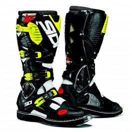 motokrosové boty SIDI CROSSFIRE 3 white/black/yellow fluo