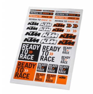 KTM Arch samolepek CORPORATE STICKER SHEET