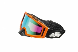 KTM motokrosové brýle RACING GOGGLES ORANGE