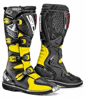 motocyklové boty Sidi AGUEDA yellow black empty ef5d978def