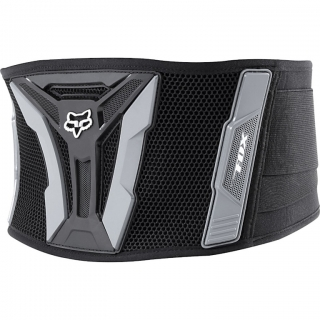 Ledvinový pás chránič Fox Turbo Kidney Belt Black/Grey