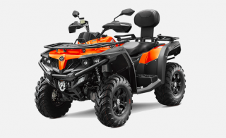 1. Gladiator X600 Efi Orange