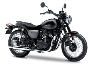KAWASAKI W800 CAFE 2019 Metallic Magnesium Gray / Galaxy Silver