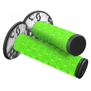 Scott Mellow MX Grips + Donuts green/black