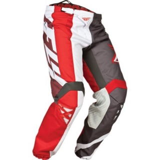 KALHOTY KINETIC , FLY RACING - USA (red/grey/white)
