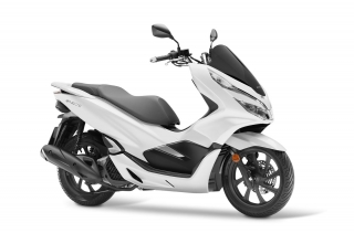 Honda PCX 125 ABS New Model 2020 bílá