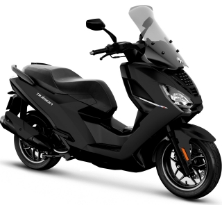 Peugeot PULSION 125I ACTIVE ABS - BLACK