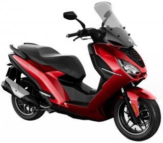 Peugeot PULSION 125I ALLURE ABS - RED ULTIMATE + bonus