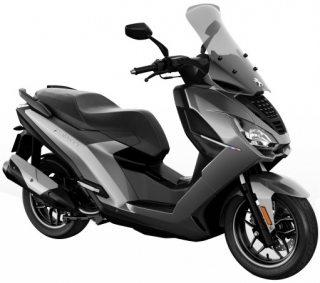 Peugeot PULSION 125I ALLURE ABS - SHINING TITANIUM