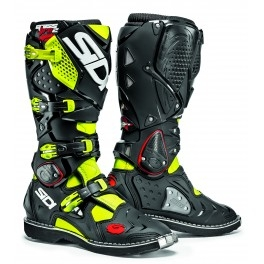 motokrosové boty SIDI CROSSFIRE 2 white/black/yellow/ fluo