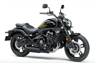 KAWASAKI VULCAN SE ABS MY20 Metallic Spark Black Gold