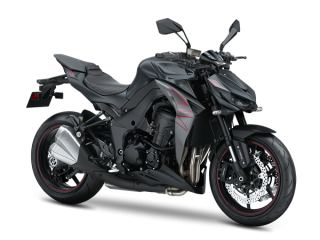 KAWASAKI Z1000 MY20 Metallic Flat Spark Black / Metal Matte Graphite Grey