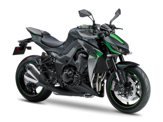 KAWASAKI Z1000 R MY20 Metallic Spark Black / Pearl Storm Grey / Emerald Blazing Green