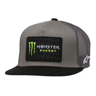Kšiltovka MONSTER Champ Hat, Alpinestars šedá