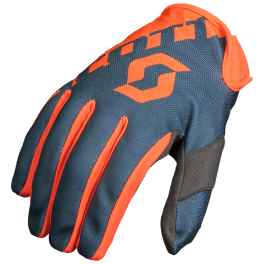 SCOTT motokrosové rukavice 250 orange/grey